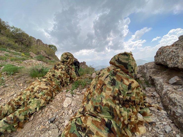 Mehmetçik, Avaşin-Basyan bölgelerinde terörist avında
