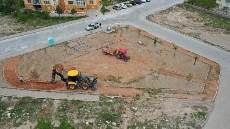 Bekdik Mahallesindeki park yenileniyor