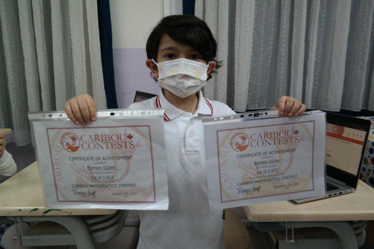 Eskişehir'de 2'nci sınıf öğrencilerinden uluslararası yarışmada 17 birincilik