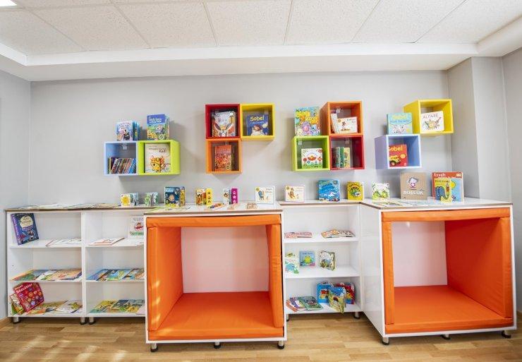 Mamak'a ikinci bebek kütüphanesi