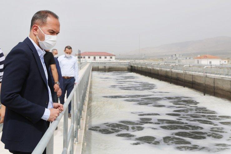 Niğde Belediyesi Arıtma Tesisinde test yapılmaya başlandı