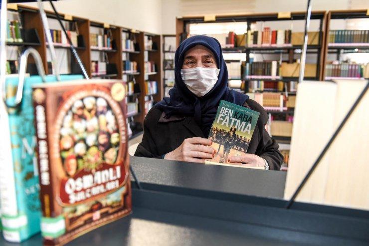 Altındağ'da 68 yaşında bir kitap kurdu