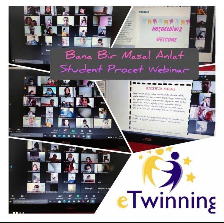Anaokulu öğrencilerinden eTwinning projeleri