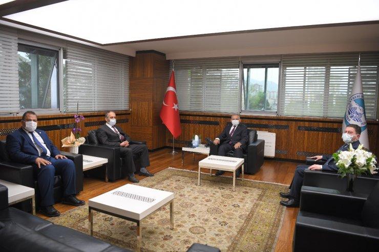 BBP heyeti Başkan Büyükkılıç'ı ziyaret etti