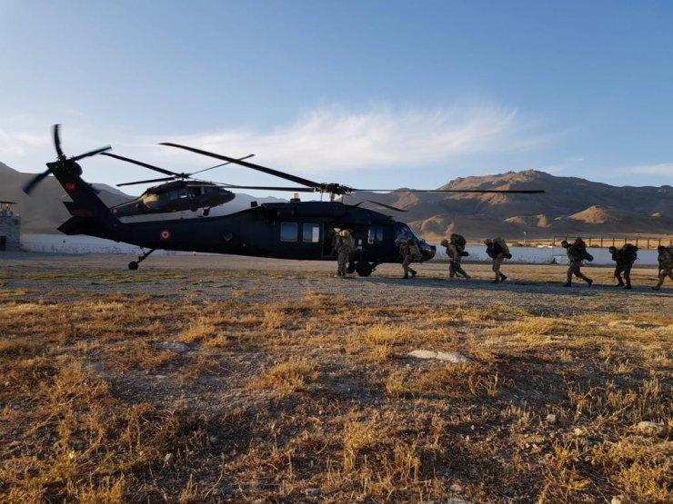 """Ağrı, Iğdır, Kars ve Ardahan'da """"Eren-15 Ağrı Dağı-Çemçe Madur Operasyonu"""" başlatıldı"""
