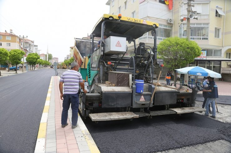 Karaman Belediyesinden asfalt çalışmaları