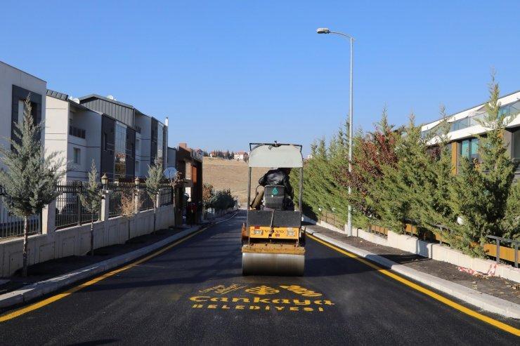 Çankaya Belediyesi asfalt sezonunu başlattı