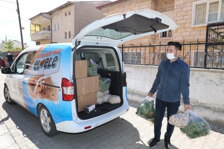 Nevşehir Belediyesinden üreticilere destek