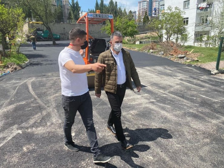 Pursaklar Belediyesinden yol yenileme atağı