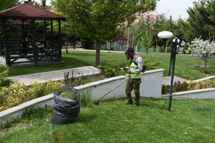 Altındağ'da parklar vatandaşlardan tam not aldı
