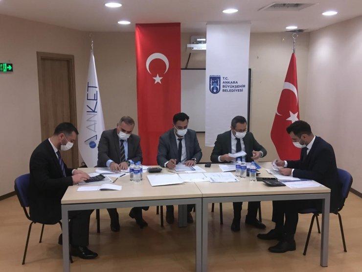 Ankara Büyükşehir Belediyesinde iki yılda bin 420 ihale canlı yayınlandı
