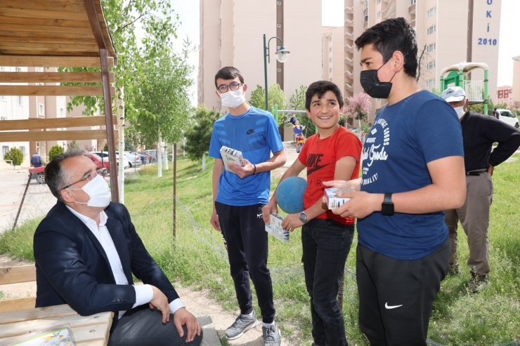 Başkan Savran, Bekdik Mahallesinde