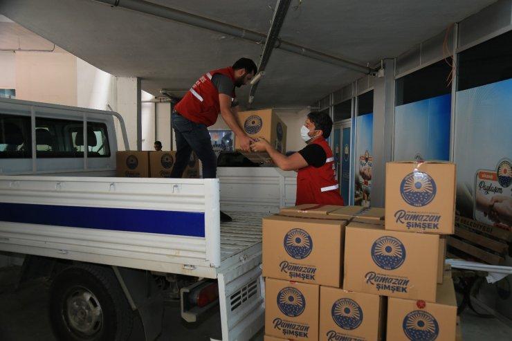 Gölbaşı Belediyesi bir yılda 7 bin 250 aileye gıda yardımı ulaştırdı
