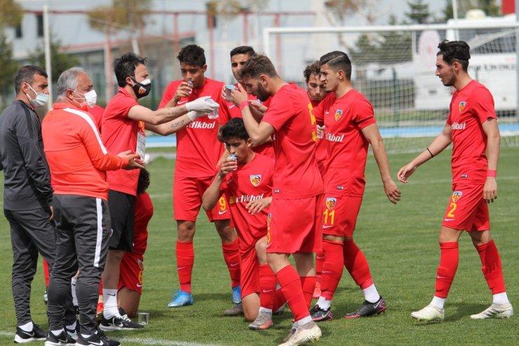 Kayserispor U19 takımı Gaziantep'te