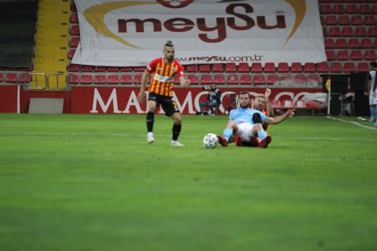 Süper Lig: Kayserispor: 0 - Gaziantep FK: 0 (Maç sonucu)