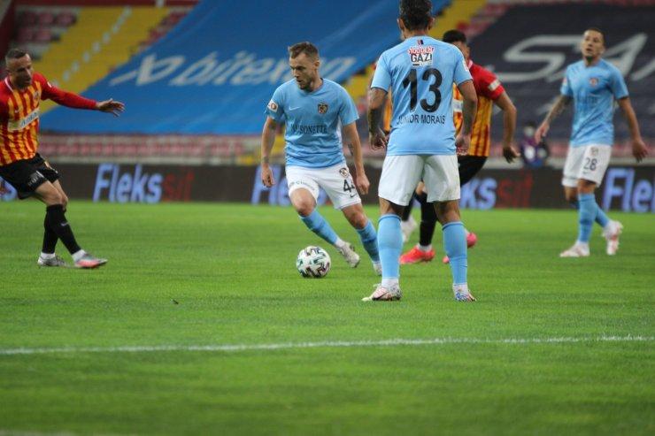 Süper Lig: Kayserispor: 0 - Gaziantep FK: 0 (İlk yarı)