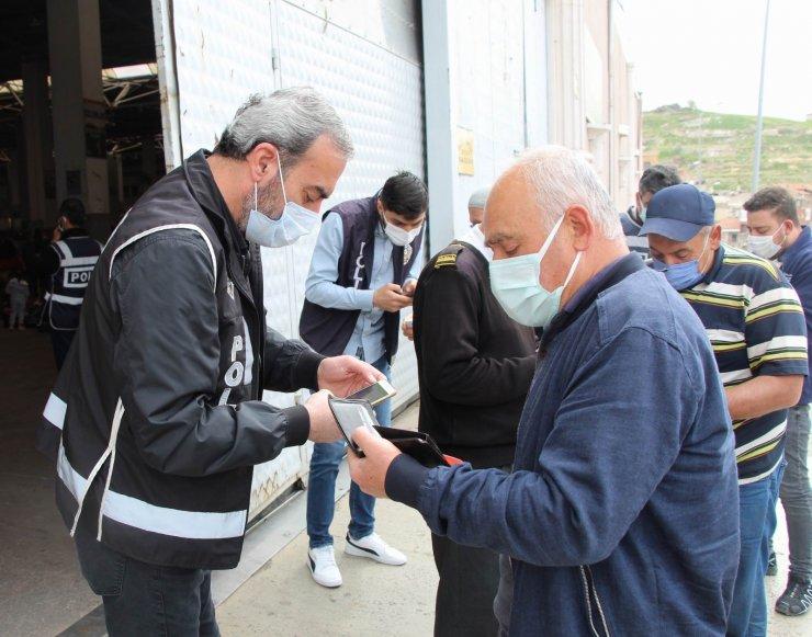 Nevşehir'de 14 noktada pazar kuruldu