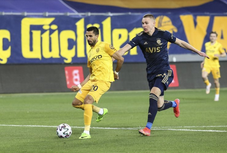 Süper Lig: MKE Ankaragücü: 1 - Fenerbahçe: 0 (Maç devam ediyor)