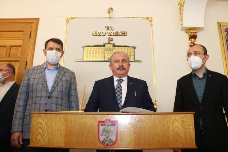 """TBMM Başkanı Şentop: """"Mescit-i Aksa'da yapılan vahşettir"""""""