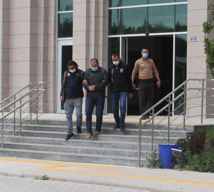 Konya'da yakalanan eski emniyet müdürü tutuklandı