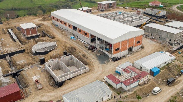 DSİ'nin Samsun 19 Mayıs Barajı Hattı ve Arıtma Tesisi'nde çalışmaları sürüyor