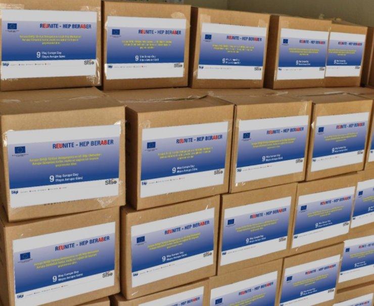 Avrupa Birliği Türkiye Delegasyonundan ihtiyaç sahibi ailelere destek