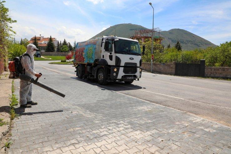 Talas'ta hem bahar temizliği hem bayram temizliği