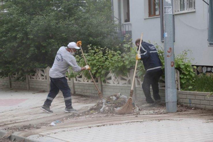 Ereğli Belediyesinden bayram temizliği