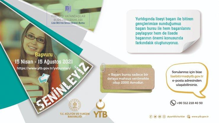 YTB'den yurt dışındaki vatandaşlar için 5 ayrı burs programı