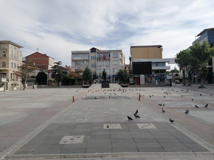 Aksaray'da sokaklar sessizliğe büründü