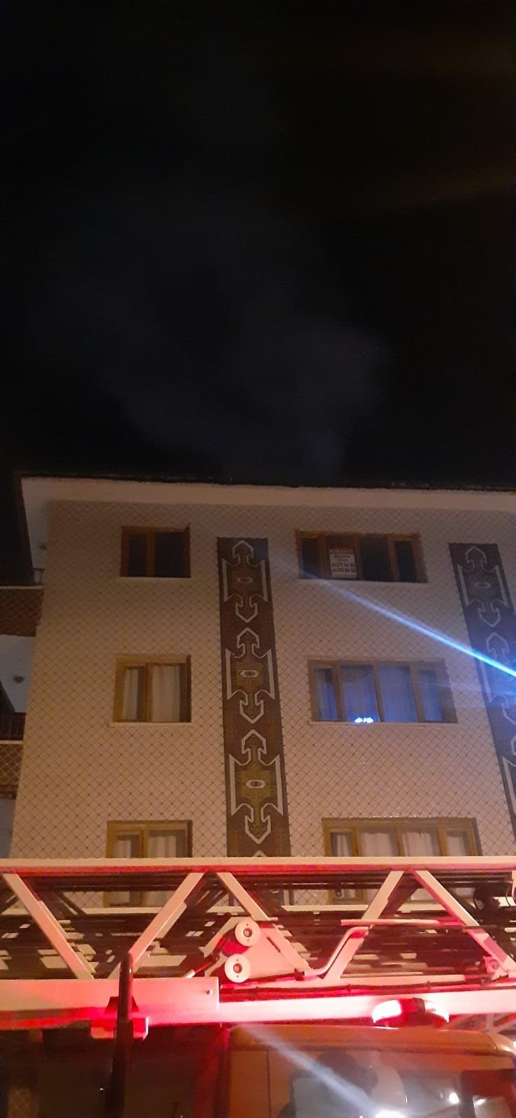 Başkent'te yangın paniği