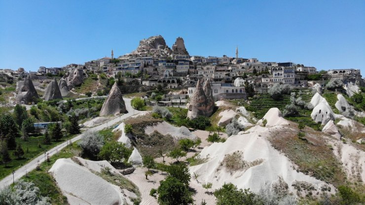 Kapadokya en sessiz bayramını yaşıyor