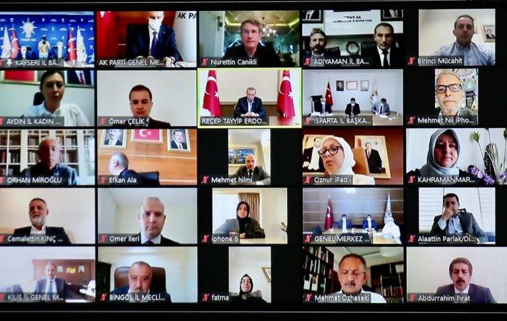 AK Parti Teşkilatı Bayramlaşma Programında Buluştu