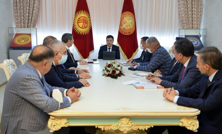 Caparov, Türk işadamlarını Kırgızistan'a yatırıma çağırdı