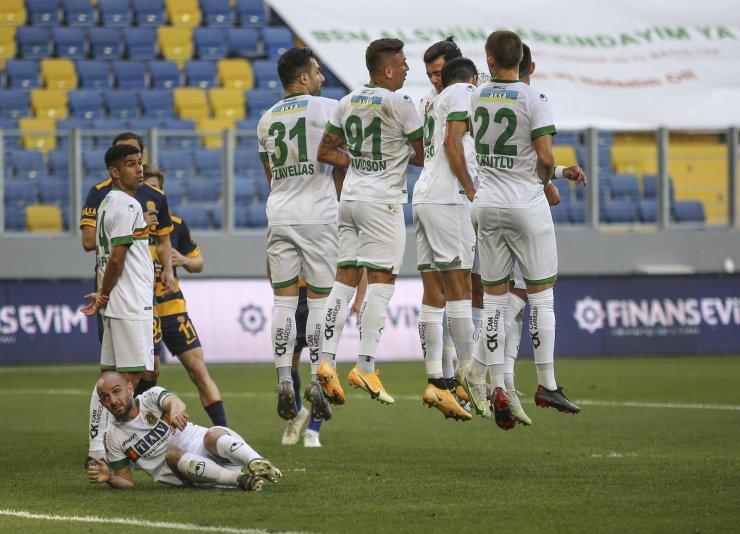 Süper Lig: MKE Ankaragücü: 0 - Aytemiz Alanyaspor: 1 (Maç sonucu)