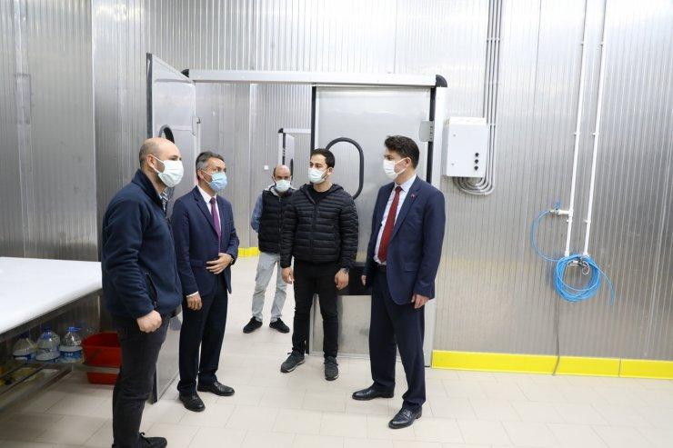 Bozan mahallesine yıllık 576 ton kapasiteli et entegre tesisi yapıldı