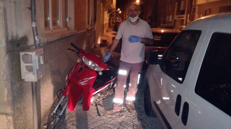 Motosiklet hırsızlığı şüphelisi 3 kişi yakalandı