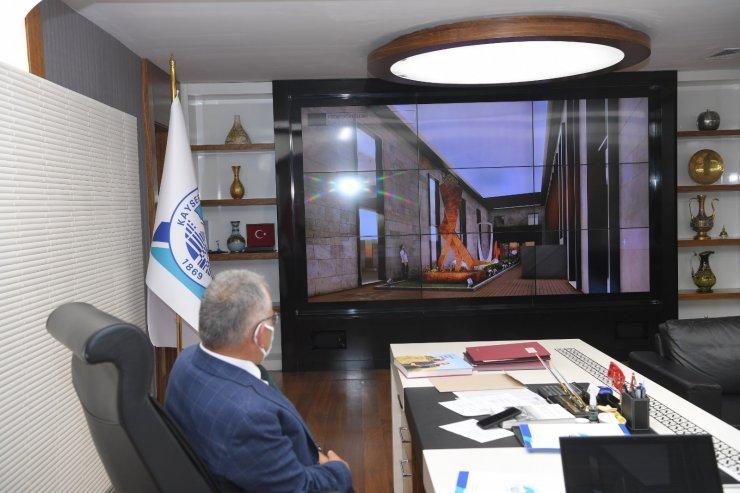 Başkan Büyükkılıç projeleri masaya yatırdı