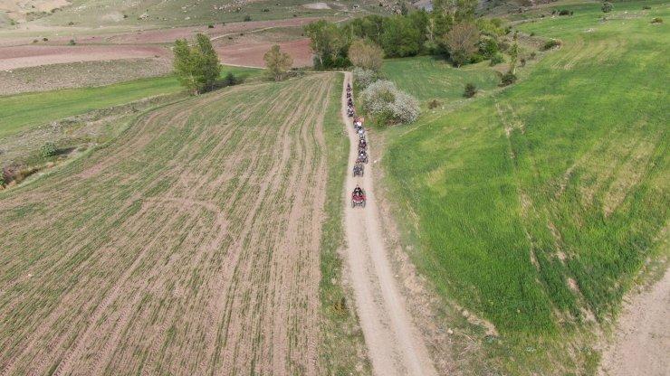 Bu köyde traktörlerin yerini ATV'ler aldı