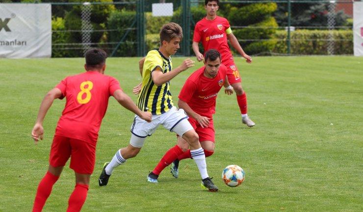 U19 Süper Ligi 13. Hafta: Fenerbahçe: 4 - Kayserispor: 3