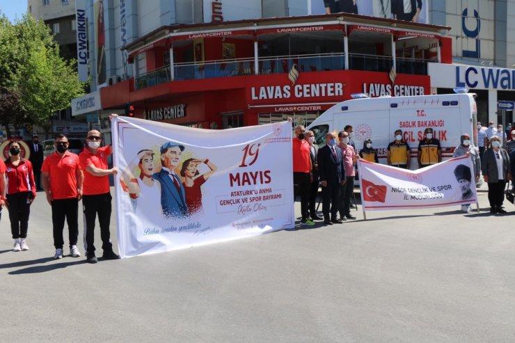 Niğde'de 19 Mayıs töreni düzenlendi