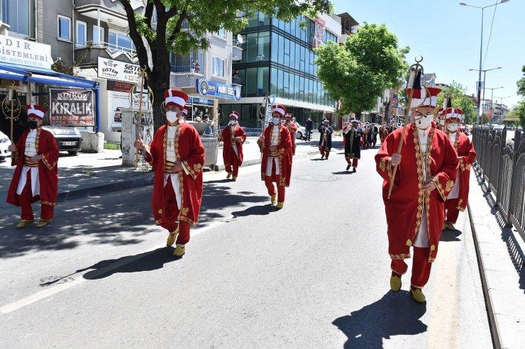 Ankara Büyükşehir Belediyesi'nden mehterli 19 Mayıs kutlaması