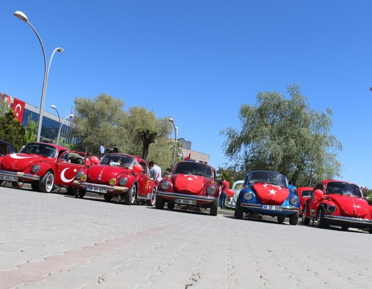 Başkent'te Vosvoslu 19 Mayıs konvoyu