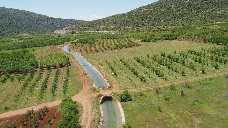 Isparta'da 2021 sulama sezonu başladı