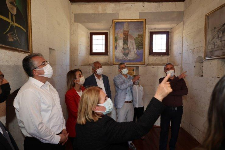 Belediye Başkanı Savran, Hacıbektaş'ta fidan dikim etkinliğine katıldı