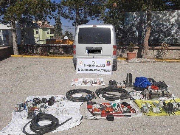 Jandarma 16 faili meçhul hırsızlık olayını çözdü