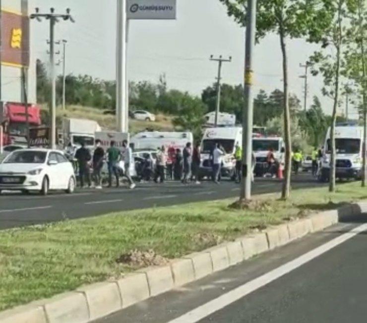 Kırşehir'de trafik kazası: 2 ölü, 2 yaralı
