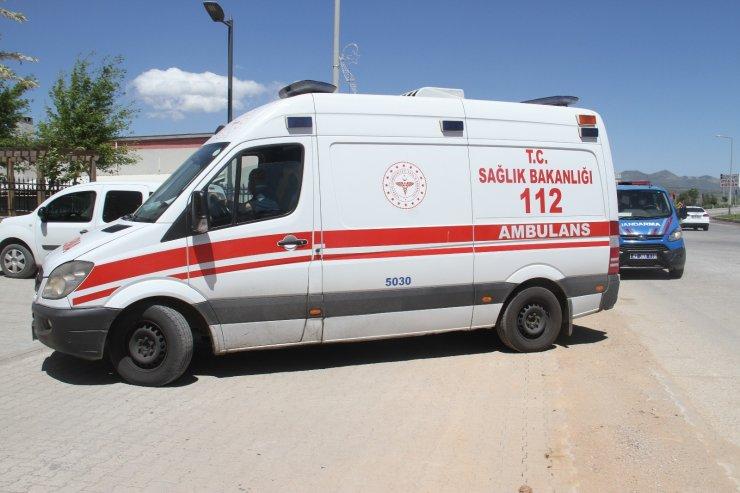 Konya'da ambulans şoförünü yaralayan hasta yakını tutuklandı