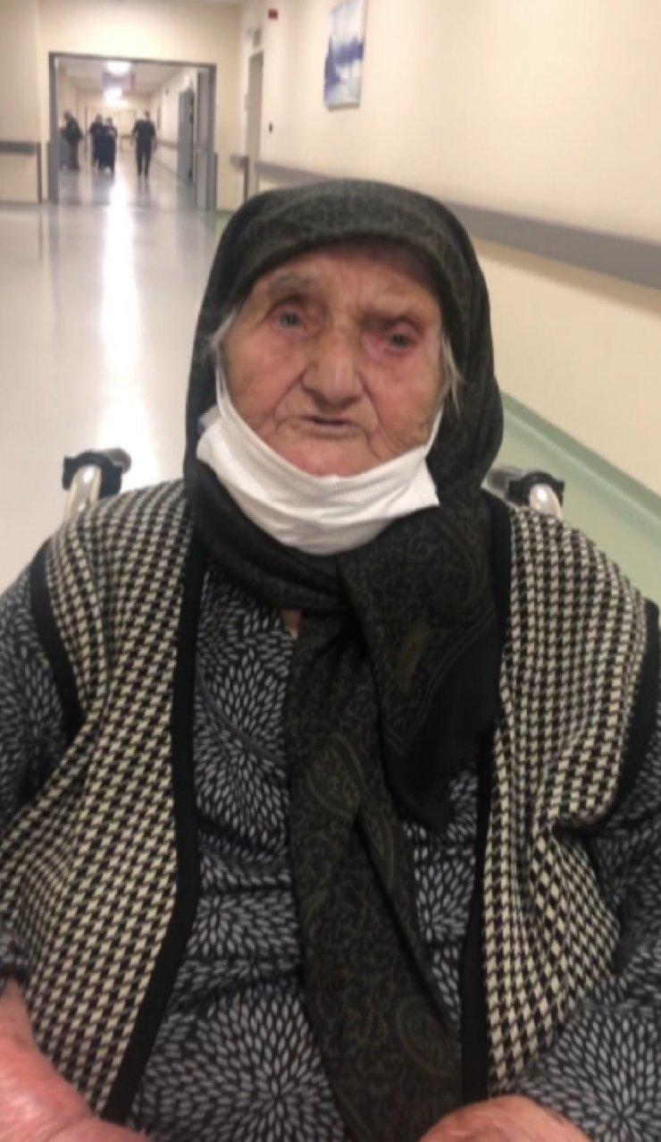 Konyalı 100 yaşındaki Peten ninenin Cumhurbaşkanı Erdoğan sevgisi