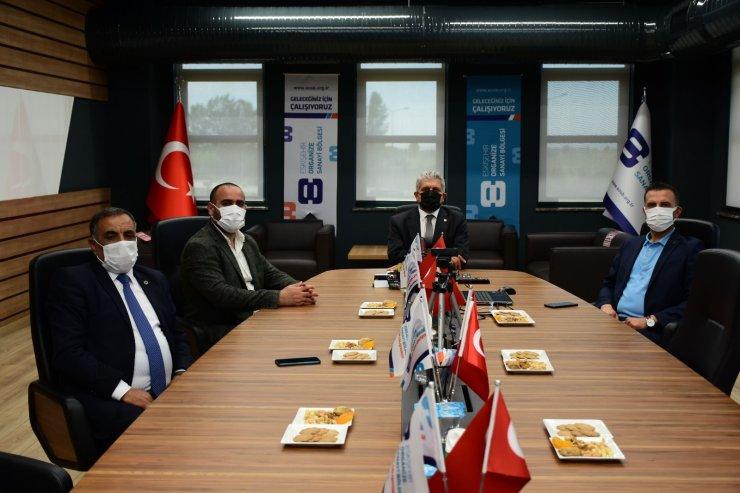 Gelecek Partisi'nden Başkan Küpeli'ye ziyaret